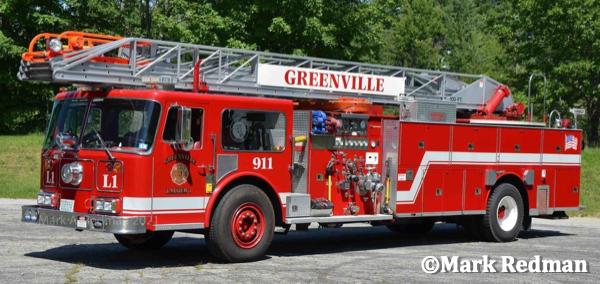 former Riverside IL fire truck