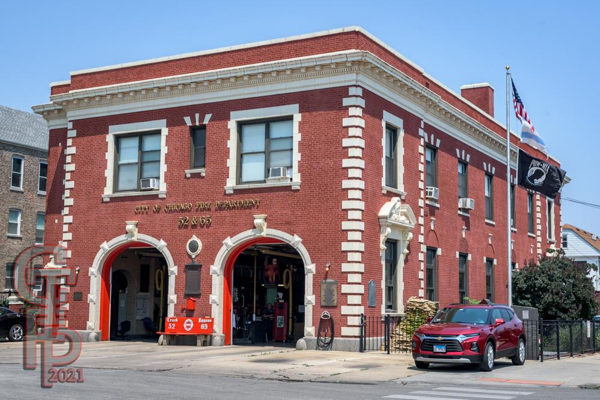 classic Chicago fire house