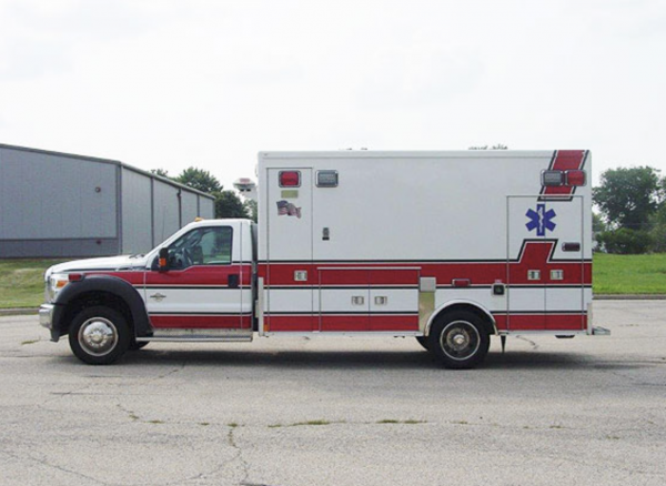 2012 Ford F450 4x4 Medtec Type 1 ambulance for sale