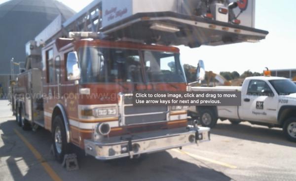 2006 Pierce Dash Quint 100-Foot Platform Aerial - Ladder Truck for sale in Naperville IL