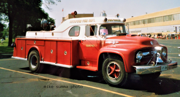 Rockford Fire Department history