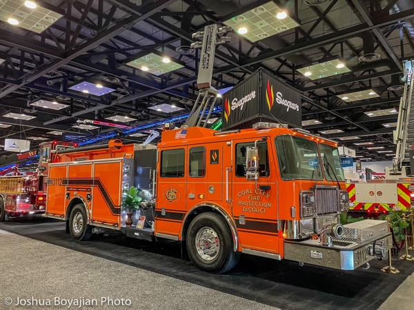 2021 Seagrve Marauder fire engine