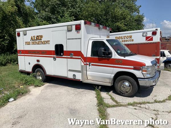 Former Alsip FD ambulance