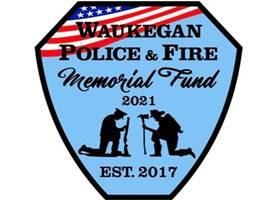 Waukegan Police and Fire Memorial Fund patch