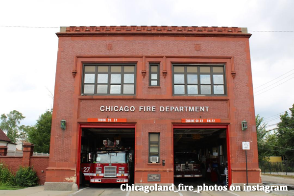 Chicago fire station