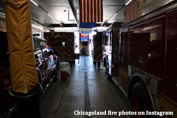 fire trucks in the Hometown FD fire station