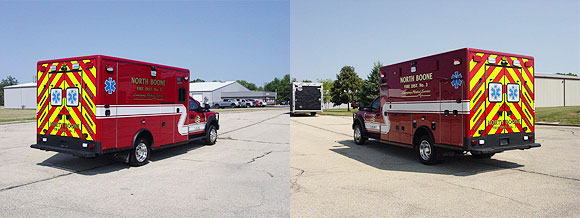 New ambulance for the North Boone Fire District No. 3
