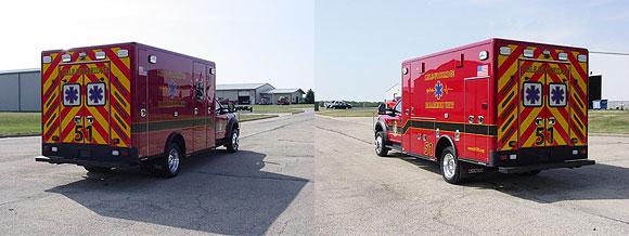 New ambulance for the Lisle-Woodridge FPD