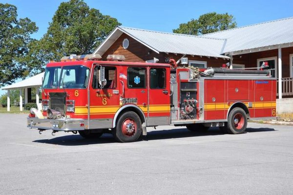 1991 Spartan Darley fire engine