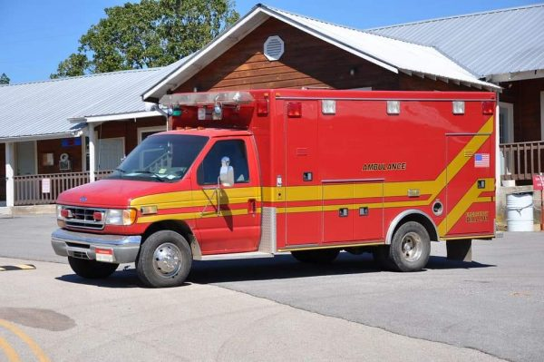 new home for former Orland FPD ambulance