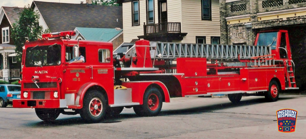vintage Milwaukee FD Truck 11