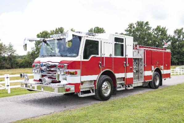 2009 Pierce Velocity fire engine for sale