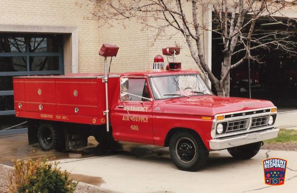 old Milwaukee FD air supply unit