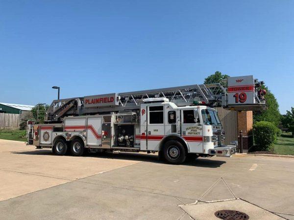 Plainfield FPD fire truck