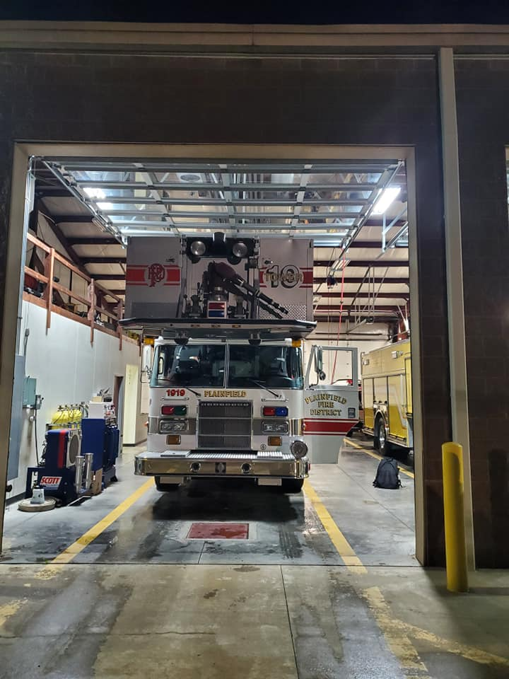 former Plainfield FPD fire truck