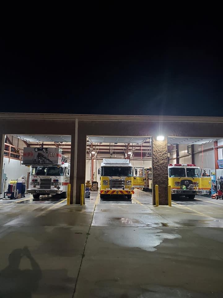 Volunteer Fire Department of Springfield Township fire trucks
