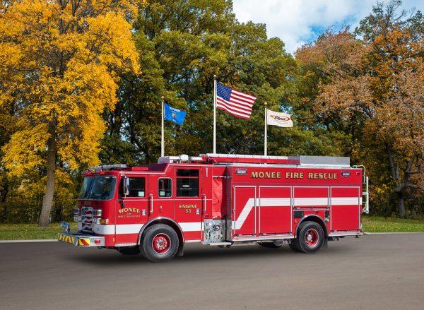 Pierce Arrow XT PUC fire engine for the Monee FPD