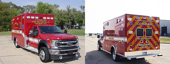 Ford Horton Type 1 ambulance