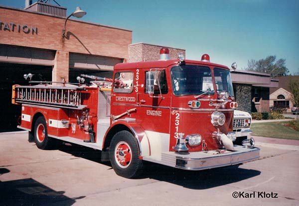 1966 Seagrave fire engine