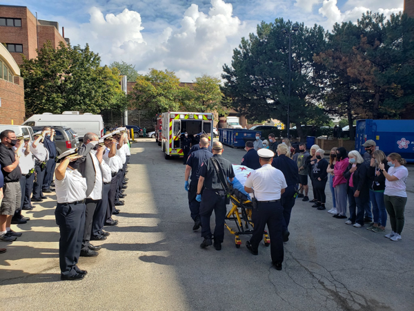 Chicago Firefighter Michael Pickering age 45, of ENGINE 29 passed away after contracting COVID-19.