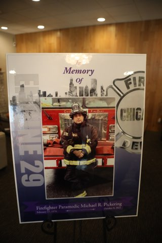 Funeral for Chicago Firefighter Michael Pickering