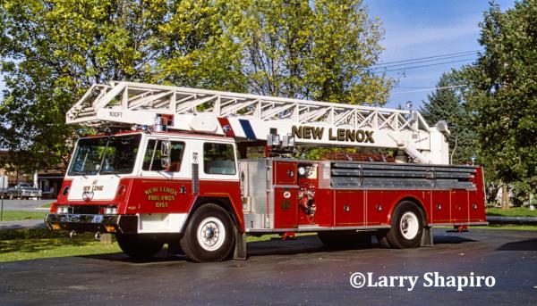 New Lenox FPD history