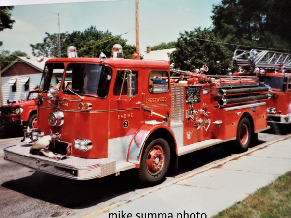 Crestwood FD Engine 2 - 1966 Seagrave fire engine