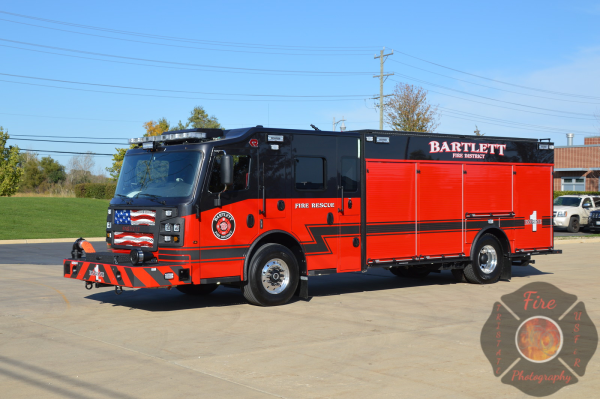 New Rosenbauer Commander fire engine in Bartlett, IL