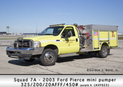Chicago FD Squad 7A at O'Hare Airport