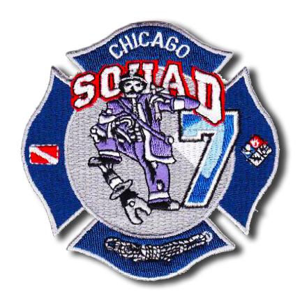 Chicago FD Squad 7 patch