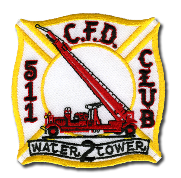 Chicago FD 5-11 Club Water Tower 2 patch