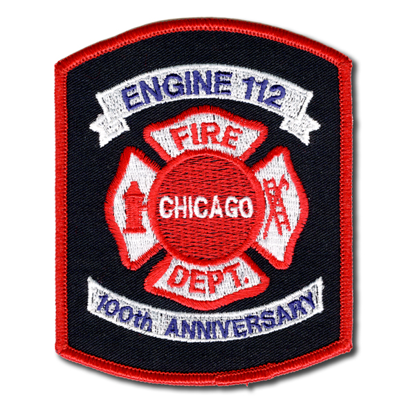 Chicago FD Engine 112's patch