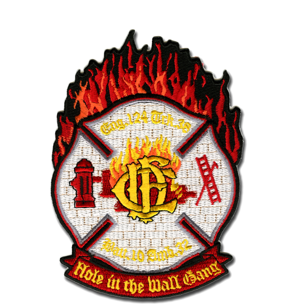 Chicago FD Engine 124's patch