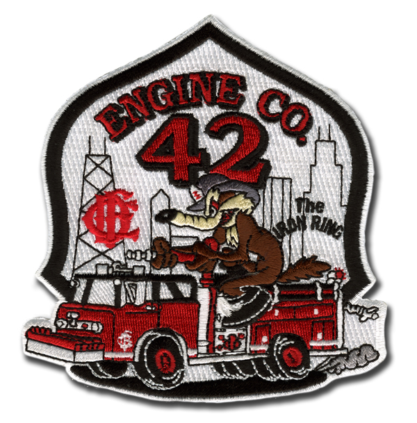 Chicago FD Engine 42 patch