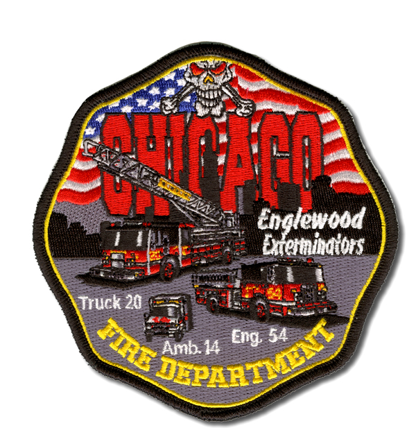 Chicago FD Engine 54's patch
