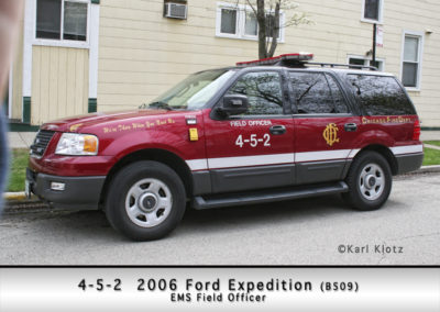 Chicago FD Paramedic Field Chief 4-5-2