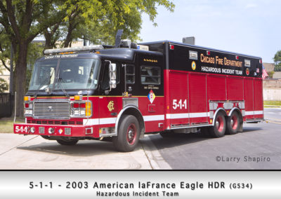 Chicago FD Hazardous Incident Team 5-1-1