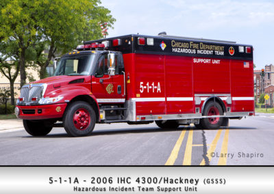 Chicago FD Hazardous Incident Team Support Unit 5-1-1A