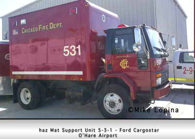 Chicago FD Haz Mat Support Unit 5-3-1