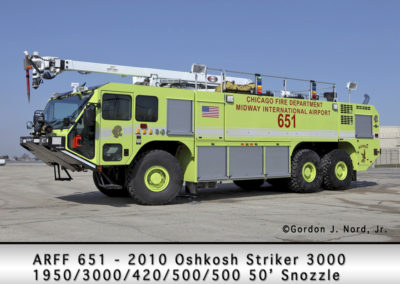 Chicago FD ARFF 6-5-1 at Midway Airport