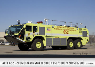 Chicago FD ARFF 6-5-2 at Midway Airport
