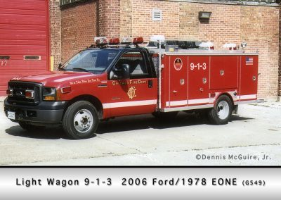 Chicago FD Light Wagon 9-1-3