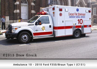 Chicago FD Ambulance 10