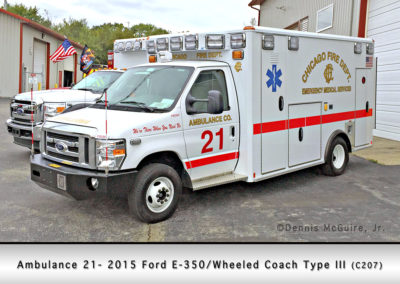 Chicago FD Ambulance 21