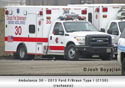 Chicago FD Ambulance 30