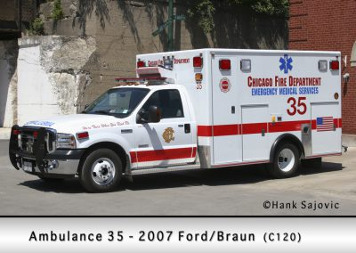Chicago FD Ambulance 35