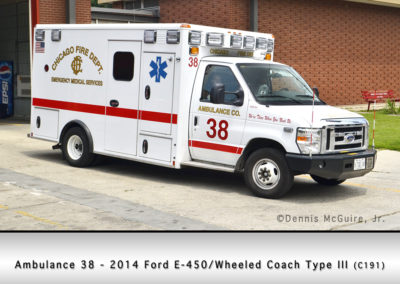 Chicago FD Ambulance 38
