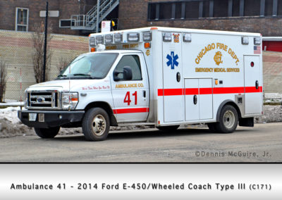 Chicago FD Ambulance 41