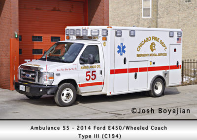 Chicago FD Ambulance 55