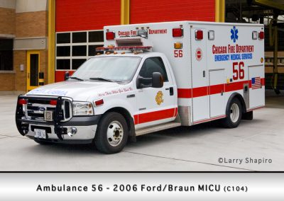 Chicago FD Ambulance 56